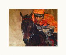 Orange Racing Silks